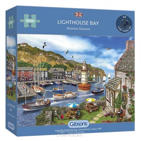 Puzzel 1000 Lighthouse Bay