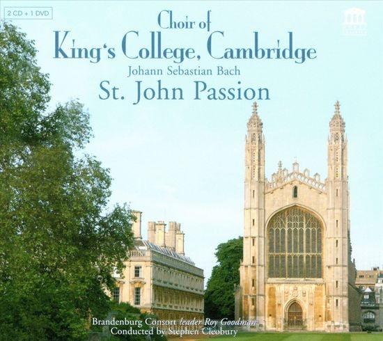 St. John Passion (2cd+1DVD)