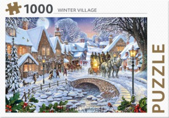 Winter Village - puzzel 1000 st
