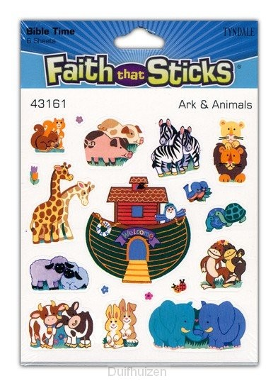 Stickers Ark and animals